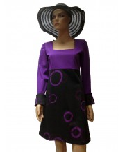 Vestido Corta con la supersticiones negro  40173 13