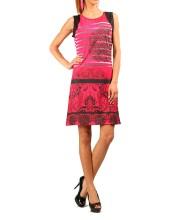 ADELA fuchsia Dress