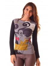 Camiseta M/Larga, Corazon Roto