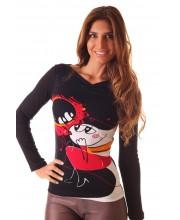 Camiseta M/Larga, ARDIENDO DE AMOR