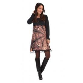 http://www.avispada.com/1509-thickbox/marcela-vestido-combinado-y-estampado-con-acabado-en-puntilla.jpg